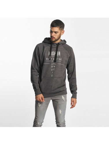 98-86 Hombres Sudadera Higher in gris