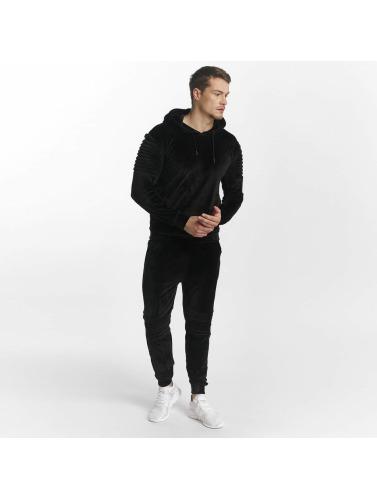 Aarhon Herren Anzug Calcio in schwarz