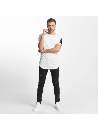 Aarhon Hombres Camiseta Atalanta in blanco