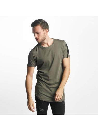 Aarhon Hombres Camiseta Atalanta in caqui