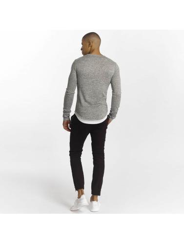Aarhon Hombres Camiseta de manga larga Sampdoria in gris