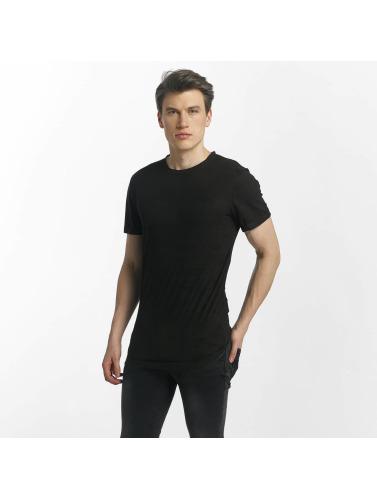 Aarhon Hombres Camiseta Roma in negro