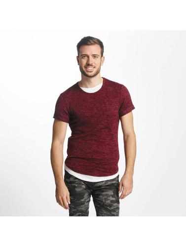 Aarhon Hombres Camiseta Bresca in rojo