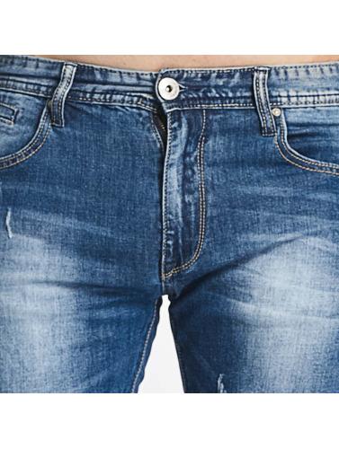Aarhon Hombres Jeans ajustado Pisa in azul