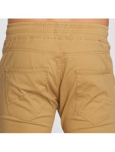Aarhon Hombres Jeans ajustado Lazio in marrón