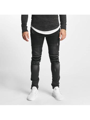 negro ajustado Aarhon Hombres Jeans in Italio Avq18Xaw