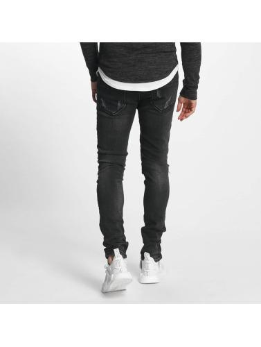 in negro Jeans Hombres Italio Aarhon ajustado Owgnq