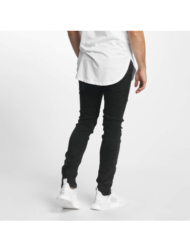 Aarhon Hombres Jeans ajustado Laszio in negro