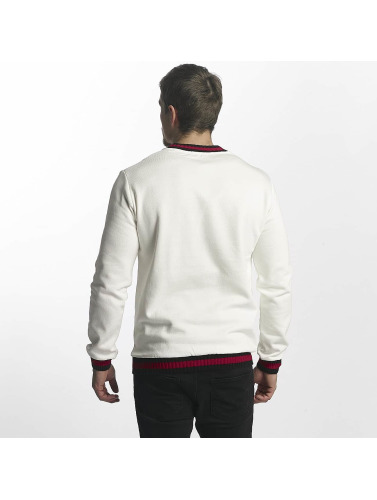 Aarhon Herren Pullover Knit in weiß