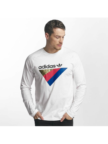rimelig Adidas Originals Menn Langermet Skjorte Anichkov I Hvitt den billigste online rabatt beste prisene mWXy6s7fh