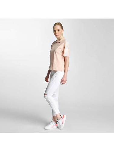 Adidas Kvinners Polo-skjorte I Fuchsia Av billige samlinger lSJE7