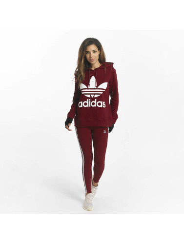 adidas originals Damen Hoody Trefoil in rot