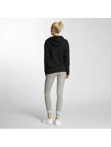 adidas originals Damen Hoody Trefoil in schwarz