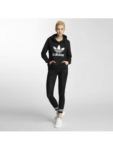 adidas originals Damen Hoody Trefoil Logo in schwarz