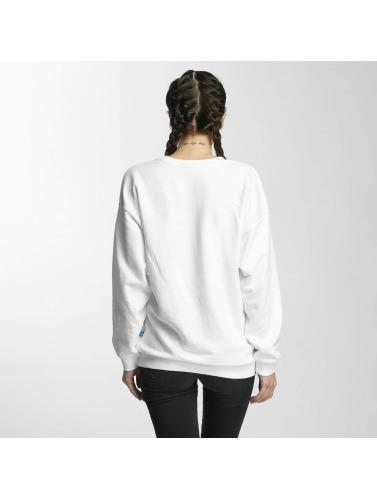 adidas originals Mujeres Jersey Trefoil in blanco