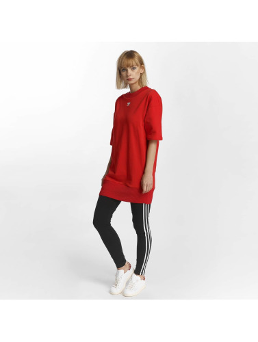 adidas originals Damen Kleid Trefoil in rot
