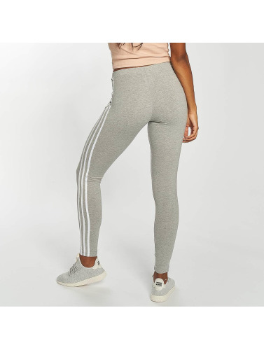 adidas originals Damen Legging 3 Stripes in grau