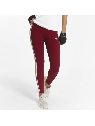 adidas originals Damen Legging 3 Stripes in rot