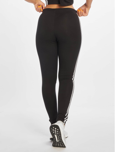 adidas originals Damen Legging 3 Stripes in schwarz