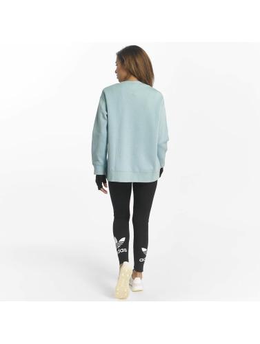 adidas originals Damen Pullover 3 Stripes in blau