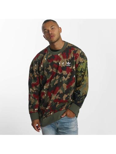 adidas originals Herren Pullover PW HU Hiking Crew Oversize in camouflage