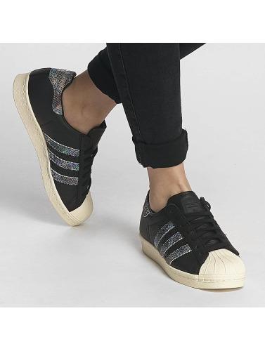 adidas originals Damen Sneaker Superstar 80s in schwarz