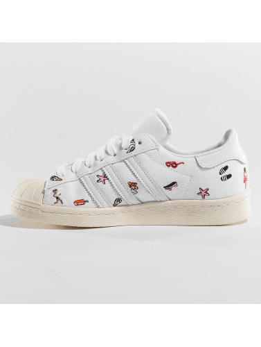 adidas originals Damen Sneaker Superstar 80s W S in weiß