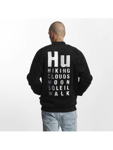 adidas originals Herren Strickjacke PW HU Hiking Polar in schwarz