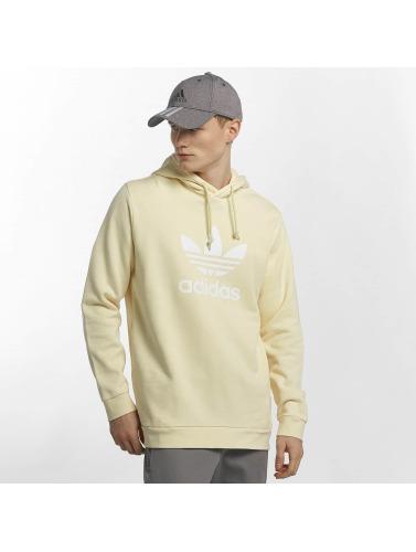 utløps bilder lav pris online Adidas Originals Trefoil Hoodie Menn I Gult offisielle billig online KQqXCP