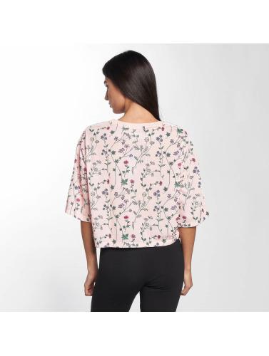 adidas originals Damen T-Shirt Blue in pink