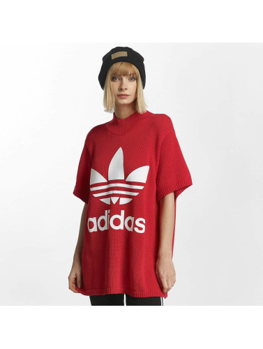 adidas originals Damen T-Shirt Big Trefoil in rot