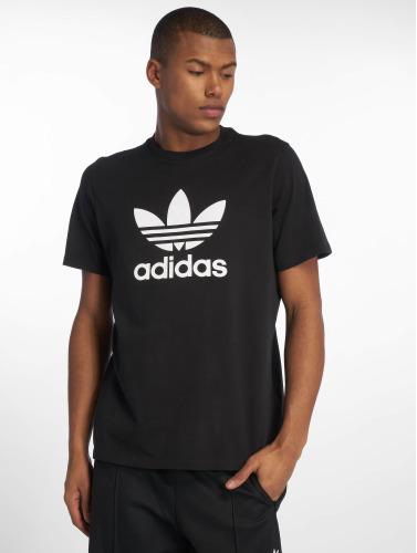adidas originals Herren T-Shirt Trefoil in schwarz