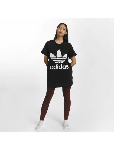 adidas originals Damen T-Shirt Big Trefoil in schwarz Spielraum Online Offizielle Seite gqASXs2Lq