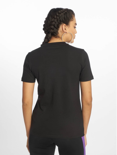 adidas originals Damen T-Shirt Trefoil in schwarz