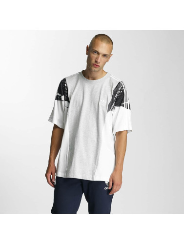 adidas originals Herren T-Shirt LA Boxy in weiß