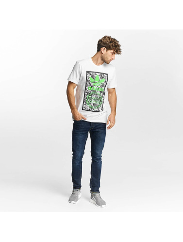 adidas originals Herren T-Shirt Tongue Label 1 in weiß