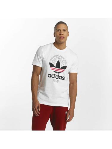 adidas originals Herren T-Shirt Trefoil in weiß
