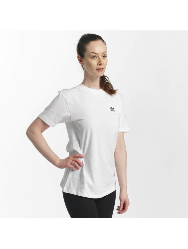 adidas originals Damen T-Shirt SC in weiß