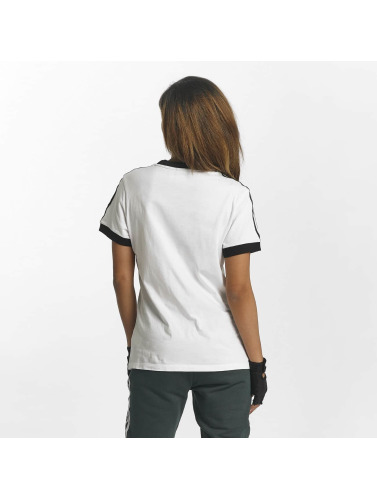 adidas originals Damen T-Shirt 3 Stripes in weiß