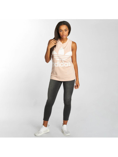 adidas originals Damen Tank Tops Trefoil in rosa