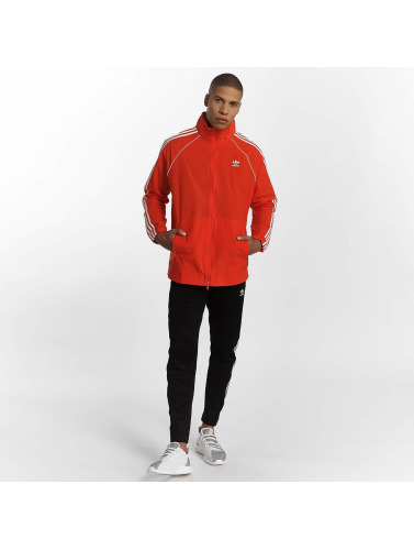 adidas originals Herren Übergangsjacke Superstar Windbreaker in rot
