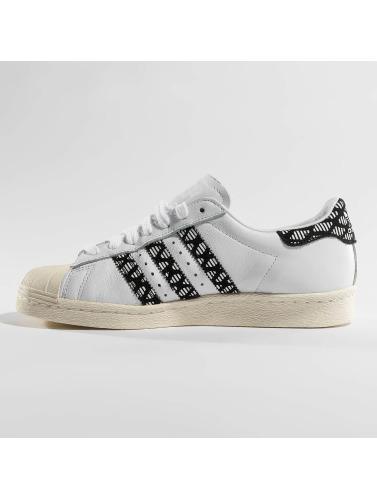 adidas originals Mujeres Zapatillas de deporte Superstar 80s in blanco