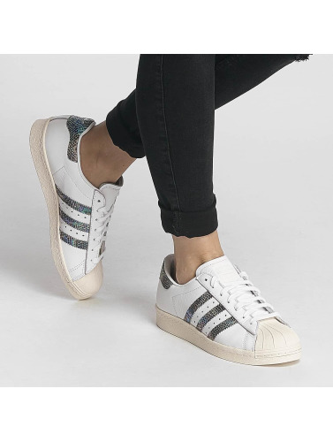 adidas originals Mujeres Zapatillas de deporte Superstar 80s in blanco