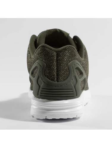 Adidas Originals Joggesko Kvinner Zx Flux I Khaki klaring målgang rabatt originale utløp 100% autentisk billig salg autentisk 80a8y