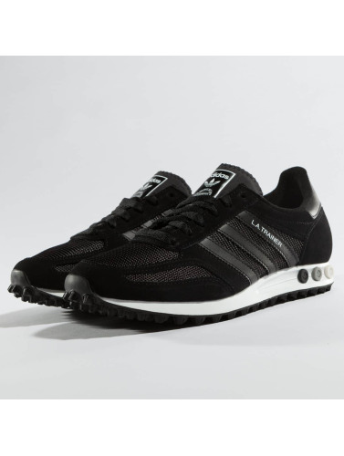 adidas originals Hombres Zapatillas de deporte LA Trainer OG in negro