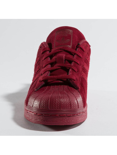 adidas originals Mujeres Zapatillas de deporte Superstar Sneakers in rojo