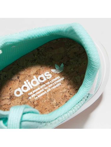 adidas originals Mujeres Zapatillas de deporte Flashback Runner in turquesa