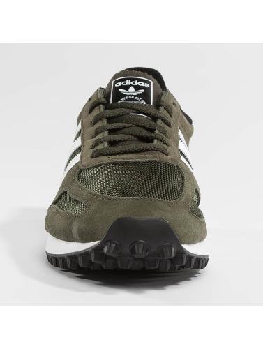 adidas originals Hombres Zapatillas de deporte LA Trainer OG in verde
