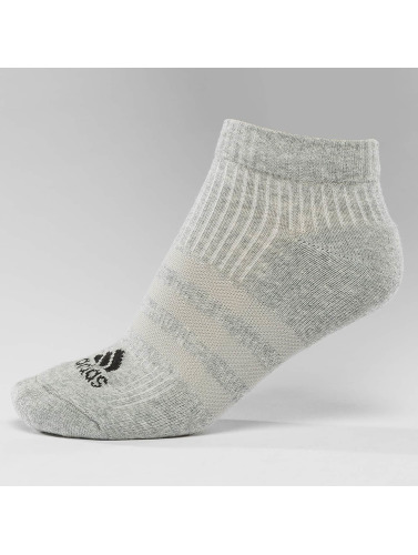 adidas Performance Calcetines Performance 3-Stripes No Show 3-Pairs in negro
