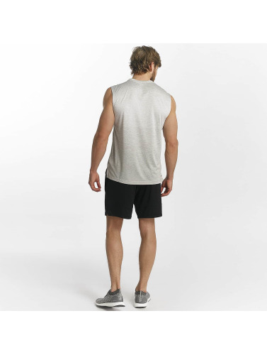 adidas Performance Hombres Tank Tops Gradient in gris